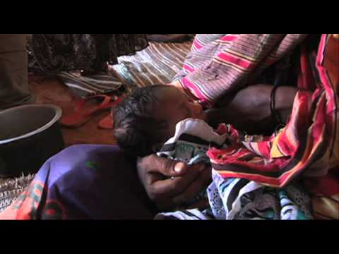 Baby born amidst East Africa drought