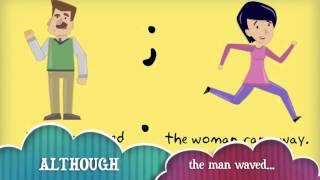 Repeat youtube video Flash Grammar Lesson: Semicolon