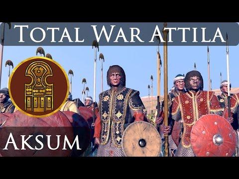 Total War Attila : Empires of Sand DLC : Aksum Faction