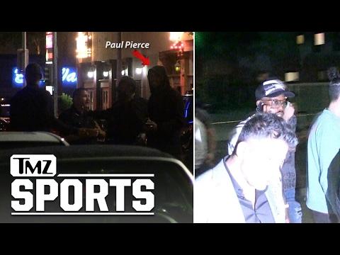 PAUL PIERCE & VON MILLER LEAVE NIGHTCLUB During Murder Investigation | TMZ Sports