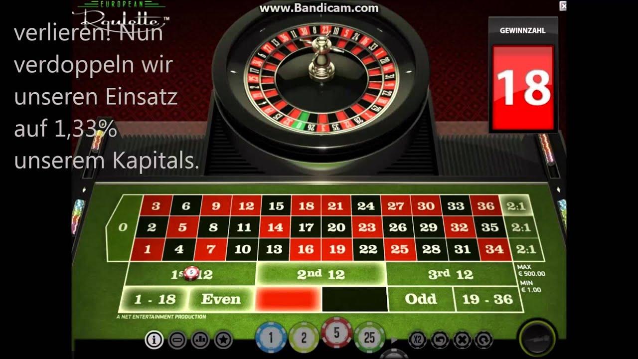 Roulette Taktik