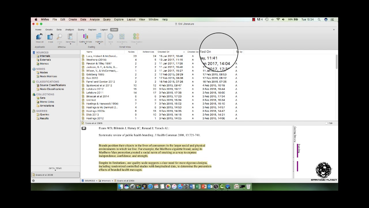 How To Use Nvivo For Your Literature Review Part 1 Youtube