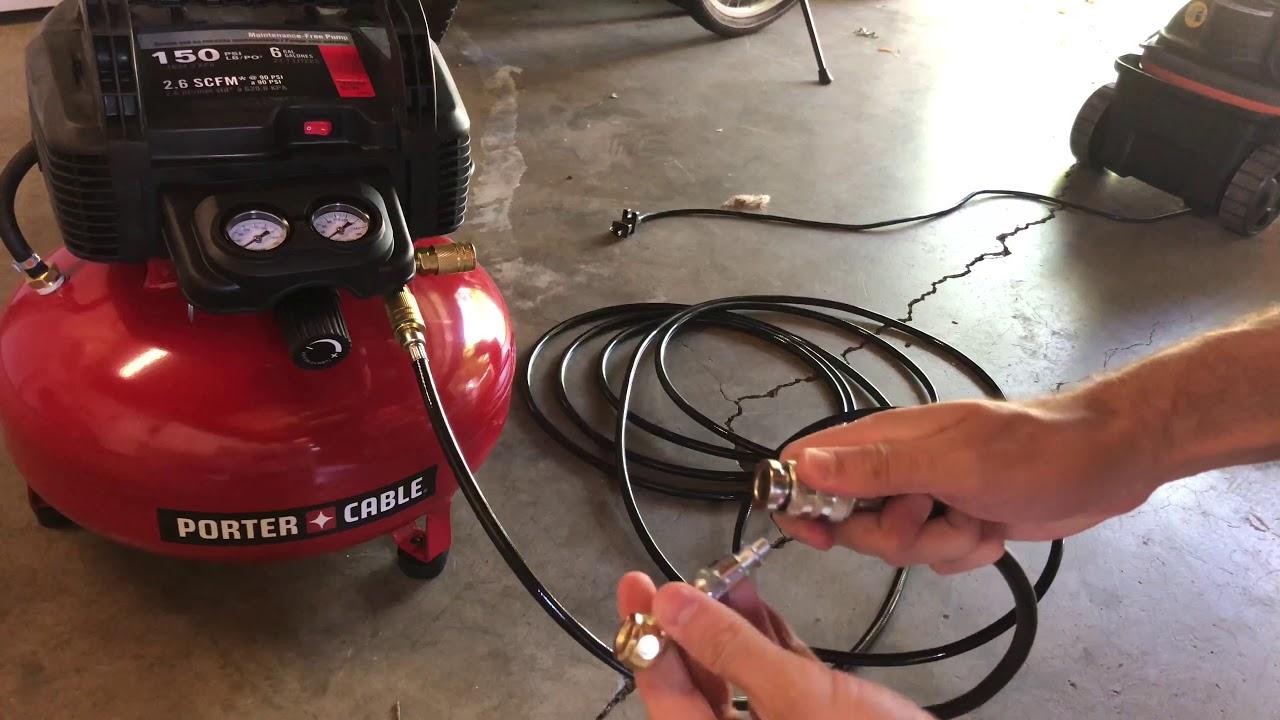 Air Compressor 150 Psi 4 3 Gallon Oil Lube Side Stack