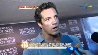 Carlos Machado na webcam?