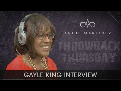 #TBT Gayle King talks to Angie Martinez