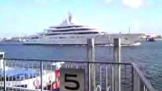 Roman Abramovich Eclipse dockt bei Bloom+Voss in Hamburg aus