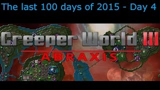 The last 100 days of 2015 - Day 4 - Creeper World 3: Abraxis