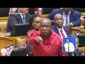 Julius Malema And EFF Disrupt SONA 2017