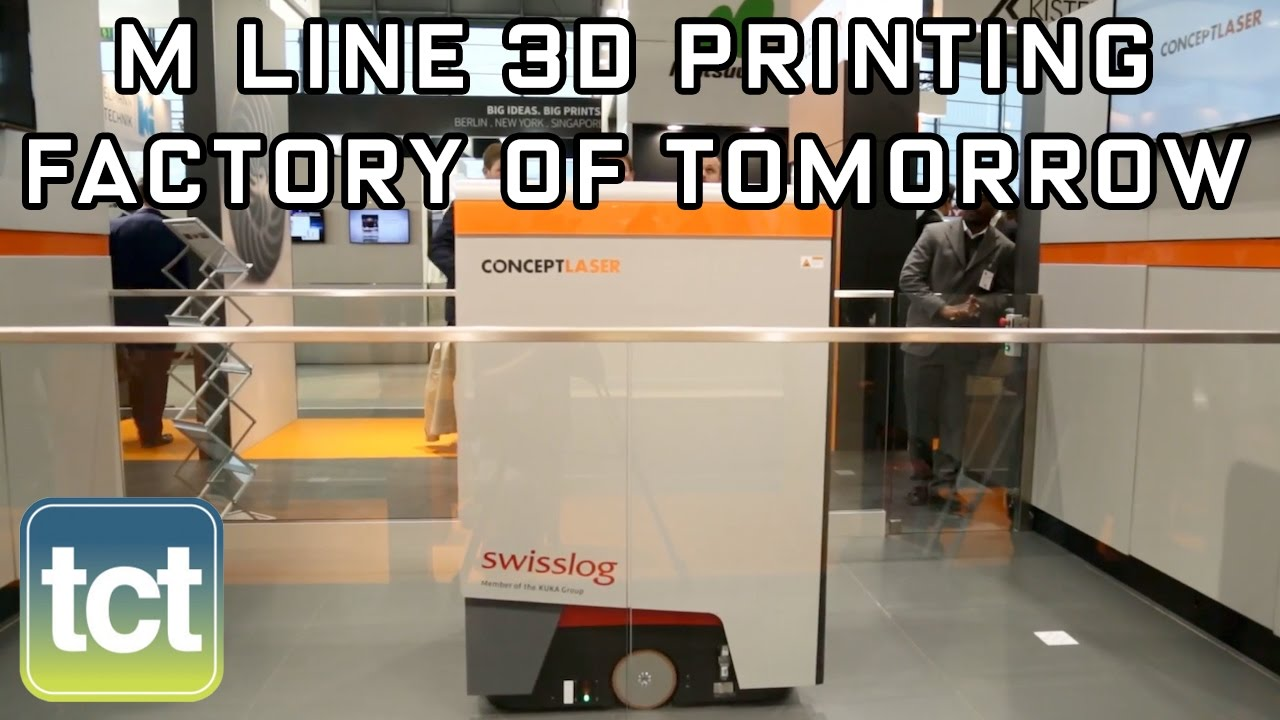 Concept Laser introduces M Line Factory 3D printing system