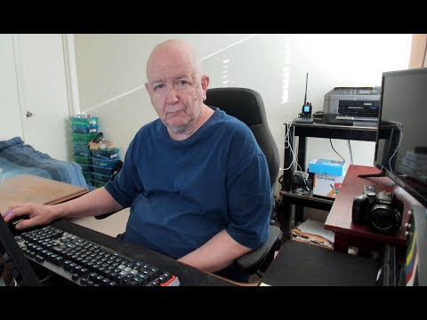 Video of my computer room and computer hardware