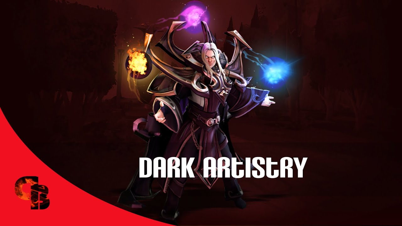 Dota 2 Store Invoker Dark Artistry Immortal Youtube