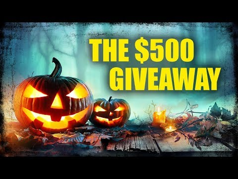 This is the $500 Giveaway - FINALLY!!!