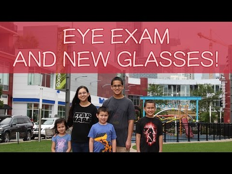CLARIFYE EYE EXAM PLUS NEW GLASSES For BREANNA | Family Vlog With Kids!