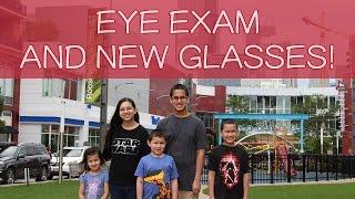 CLARIFYE EYE EXAM PLUS NEW GLASSES for BREANNA | Family Vlog with Kids!