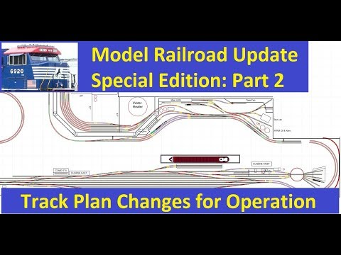 MRUV Special Edition PART 2:  Update on Track Plan Changes