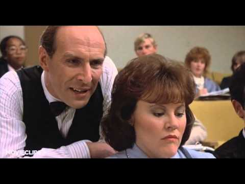 Back to School 9 12 Movie CLIP   Marge Takes Notes 1986 HD