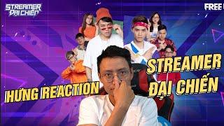 """HƯNG REACTION x FREE FIRE ĐẠI CHIẾN RAP BATTLE """"ĐỈNH KOUT"""""""