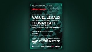 Recoverworld Live Presents... Discover Records / Nu-Depth 5-Year Anniversary Party