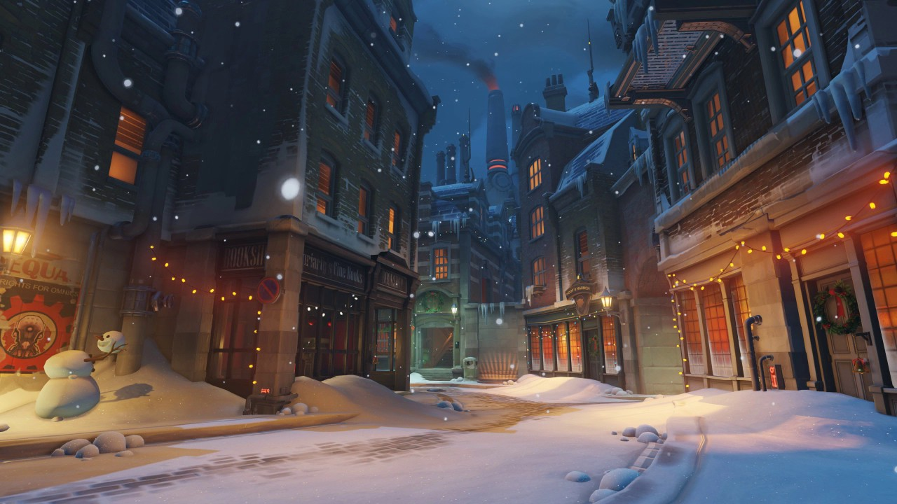Overwatch Soundtrack Winter Holiday King S Row Youtube