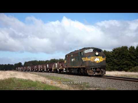 Australian Trains: Farewell Freight A class bulldogs - Photo Slideshow