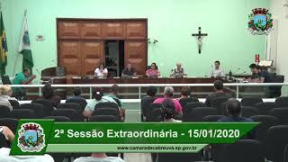 Sessão Extraordinária  - 15.01.2020