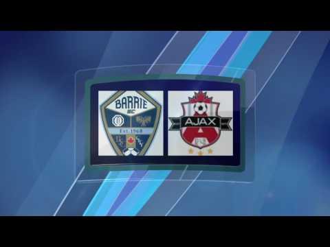 Ontario Cup U14 Qualifier  Barrie FC vs Ajax FC