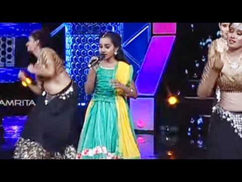 Super Star Junior-5 | Bhavana Singing 'Barso Re Megha...' song from 'Guru' Movie