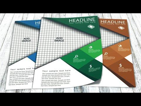 Illustrator tutorial - Business flyer design