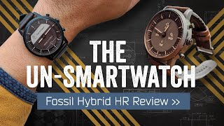 Download Fossil Hybrid HR Review: The Undercover Smartwatch Mp3 and Videos