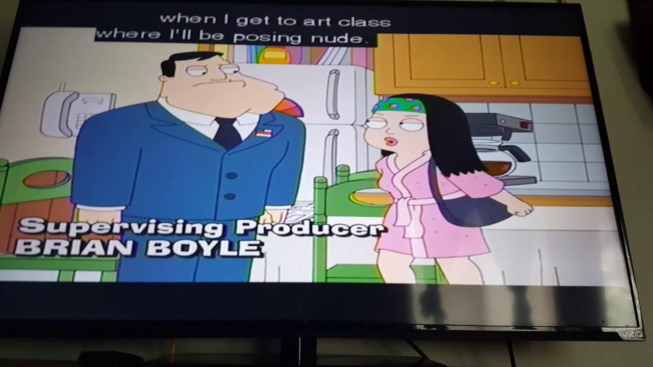 Eventually American dad totally naked apologise