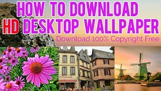 How To Download Full Hd Pc Desktop Wallpaper | Pc Laptop/android Me Wallpaper Kaise Download Kare Np