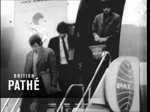 The Rolling Stones Arrive In Sydney (1965)
