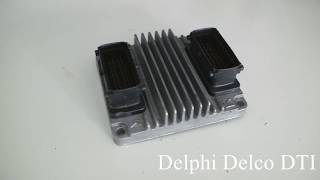 Delphi Delco Hybrid ECU bench reading