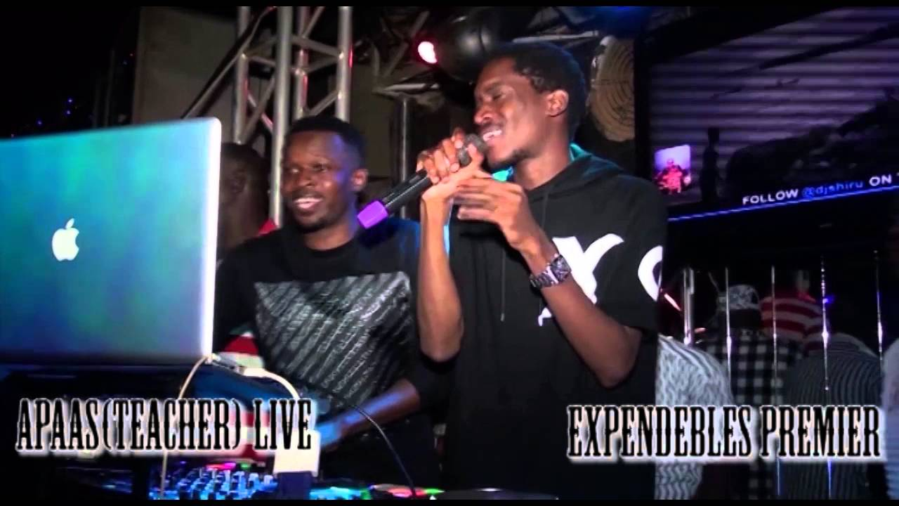 Download Dj shiru ft  Apaas  (teacher) Live Expendebles Premier 2015