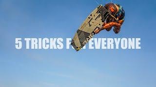 5 Tricks EVERY Kiteboarder Should Learn - BOUCH