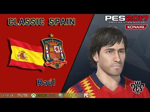 RAÚL -face y stats- (Classic Spain)