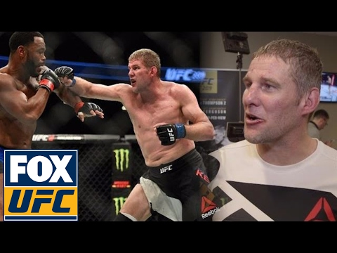 Daniel Kelly on his inspiring victory over Rashad Evans | @TheBuzzer | UFC ON FOX
