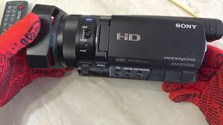 Sony HDR CX900E качество бренда упало ниже плинтуса