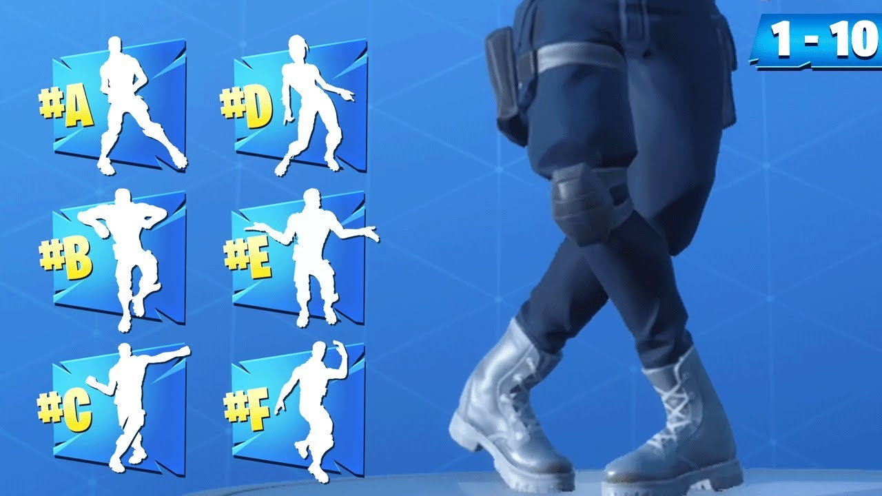 GUESS the Fortnite DANCE ONLY with the LEGS! (Fortnite Challenge)