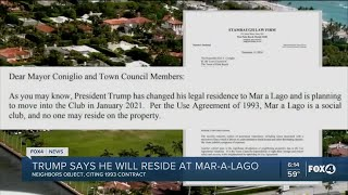 Trump To Reside At Mar-A-Lago