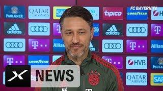Niko Kovac über Thiago, Christian Streich und die Flügel-Probleme | FC Bayern München - SC Freiburg