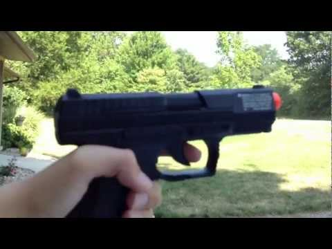 Walther P99 Dao Co2 Blowback Airsoft Gun Review and Shootin