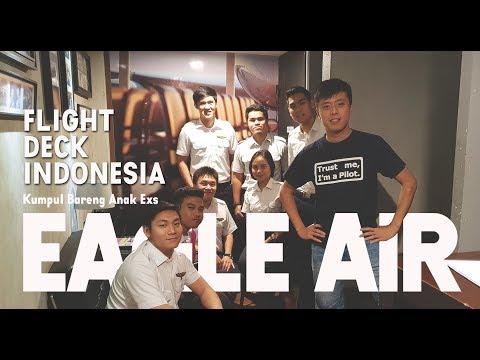 Nongkrong Bareng Anak Eagle Air Di Flight Deck Indonesia