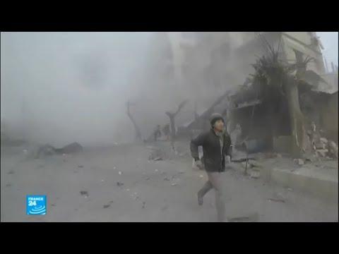 -جهنم على الأرض- حال الغوطة الشرقية بعد أيام من القصف  - نشر قبل 14 دقيقة