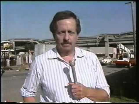 NBC News on 1989 San Francisco Earthquake - Oct., 1989!