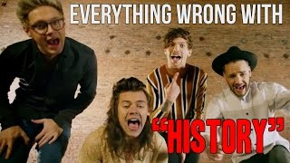 "Everything Wrong With One Direction - ""History"""