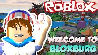 ROBLOX - WELCOME TO BLOXBURG - THE SIMS IN ROBLOX?!