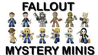 Fallout 4 Mystery Minis - Распаковка секретных фигурок по Fallout