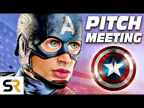 Captain America: The First Avenger Pitch Meeting