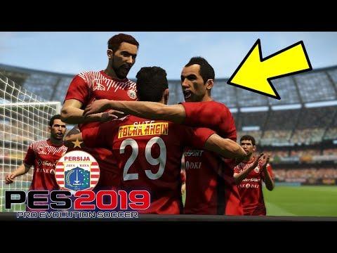 LAGA PERTAMA PERSIJA LANGSUNG LAWAN AREMA FC..!!! - LEAGUE #1 (PES 2019 INDONESIA)